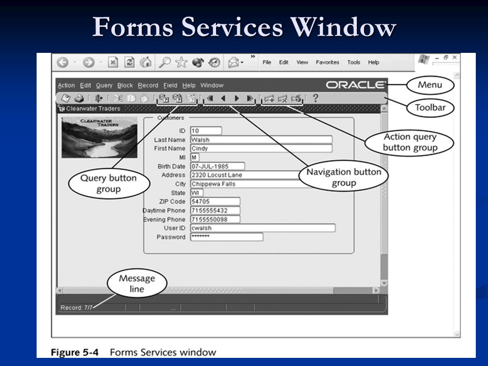 Forms Services Window Eyad Alshareef