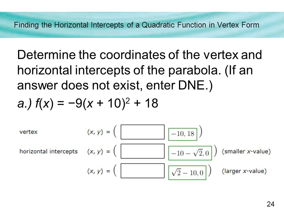 Forms and Graphs of Quadratic Functions - ppt download