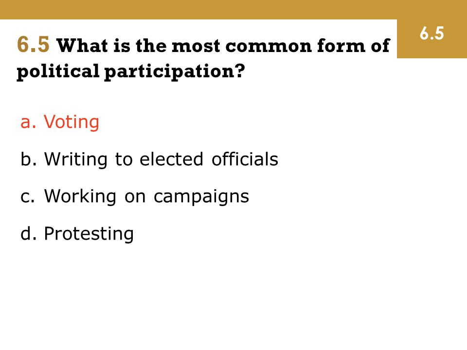 6 Public Opinion and Political Action - ppt download