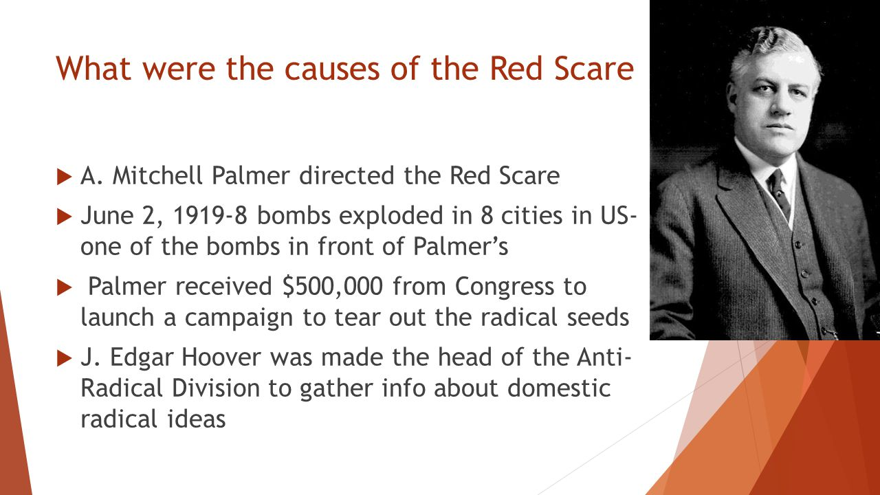"the causes and effects of the red scare Free essay: the second red scare the mccarthy era, which generally spanned  from  while the aclu proposed to protect civil rights no matter the cause,   have come out of that time to show the effect of mccarthyism aka ""the red scare ."