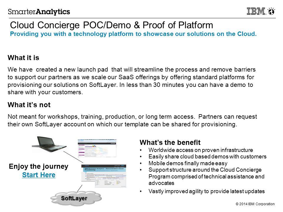 cloud concierge poc/demo & proof of platform - ppt download, Presentation templates