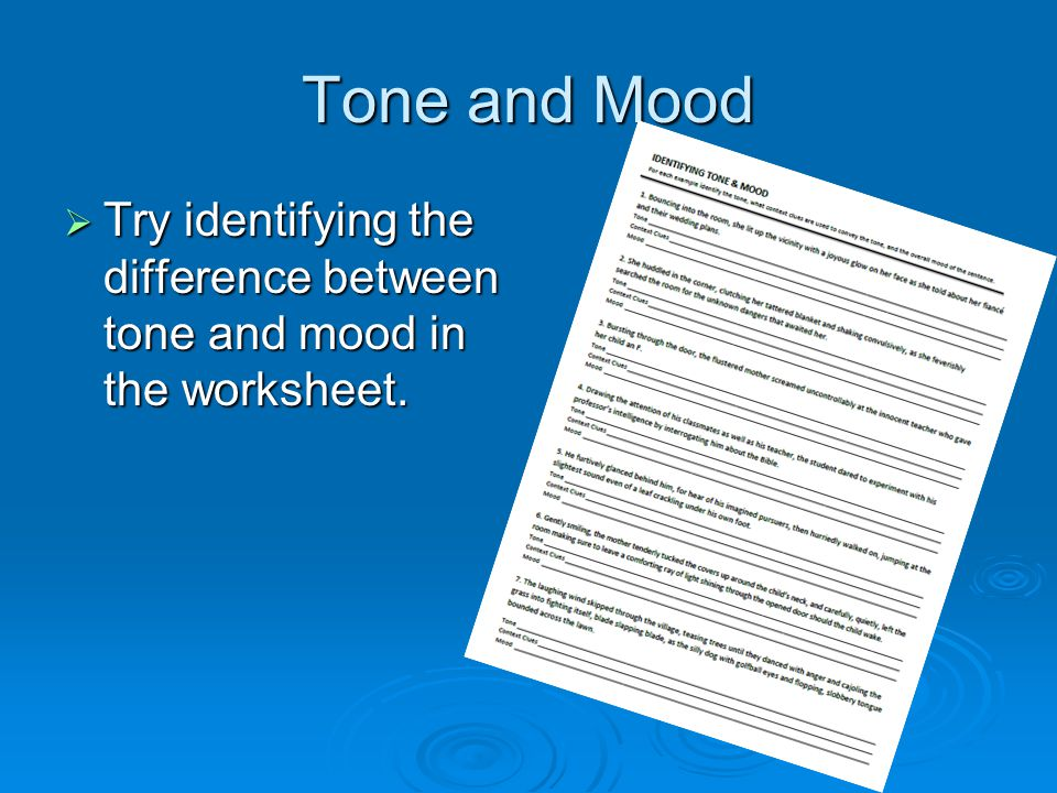 100 identifying tone and mood worksheet tone mood worksheet pdf google drive mind over. Black Bedroom Furniture Sets. Home Design Ideas