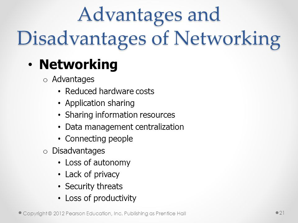 advantages and disadvantages of lan A local area network (lan) is two or more connected computers in a room or  building a wide  a wide area network (wan) has similar advantages to a lan.