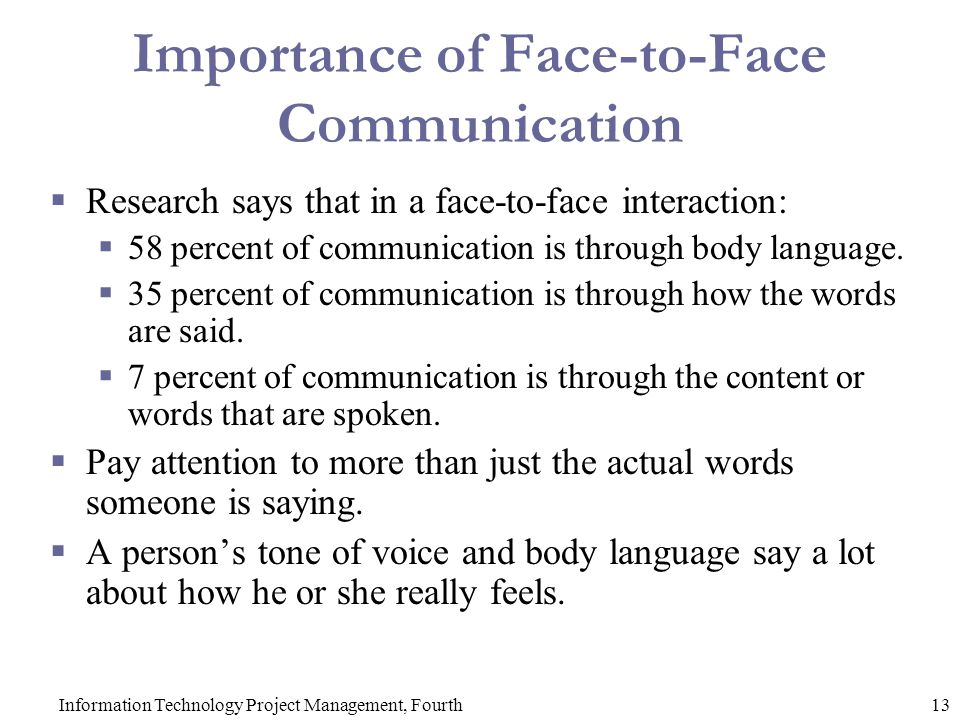 face to face interactions Greater with instant messenger than face-to-face interactions, and this effect was stronger in women than in men interestingly, however, this.