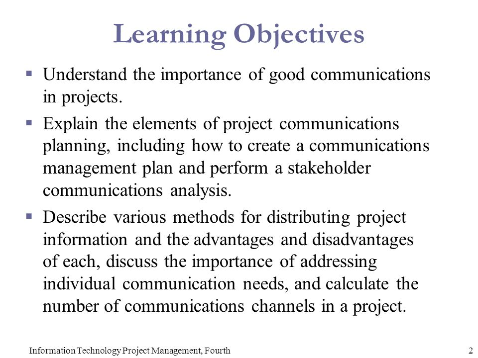 Chapter 10 Project Communications Management Ppt Video Online Download