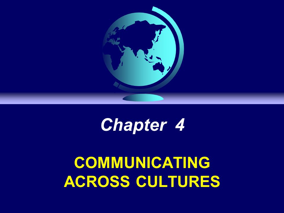 Cooperating and communication across cultures