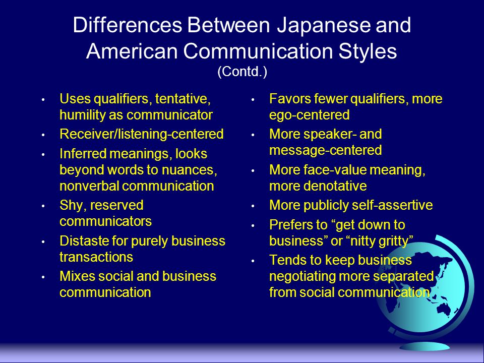 comparison of the japanese and american Post world war ii japan's economy has been closely linked with the united  states although a much smaller population japan's gdp per.