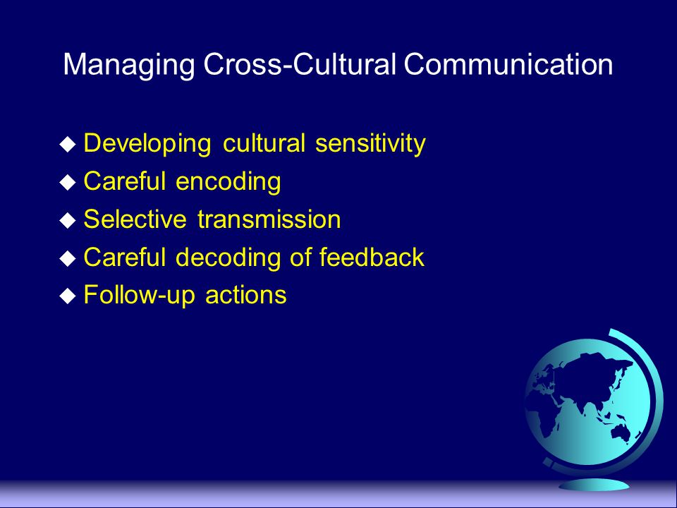 cultural sensitivity in professional communication with This revised edition of cultural sensitivity continues to offer health care  professionals the information they need to successfully communicate with their  patients,.