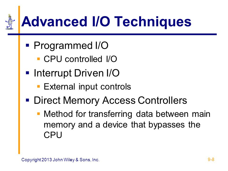 Advanced I/O Techniques