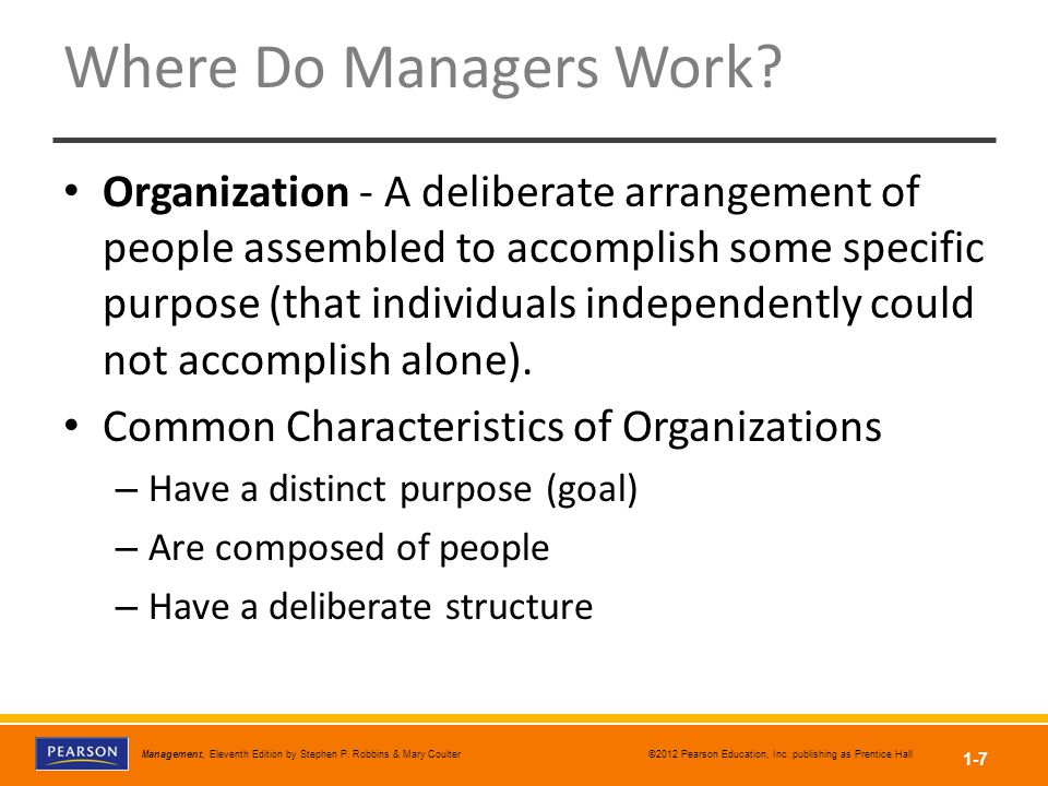 Where Do Managers Work