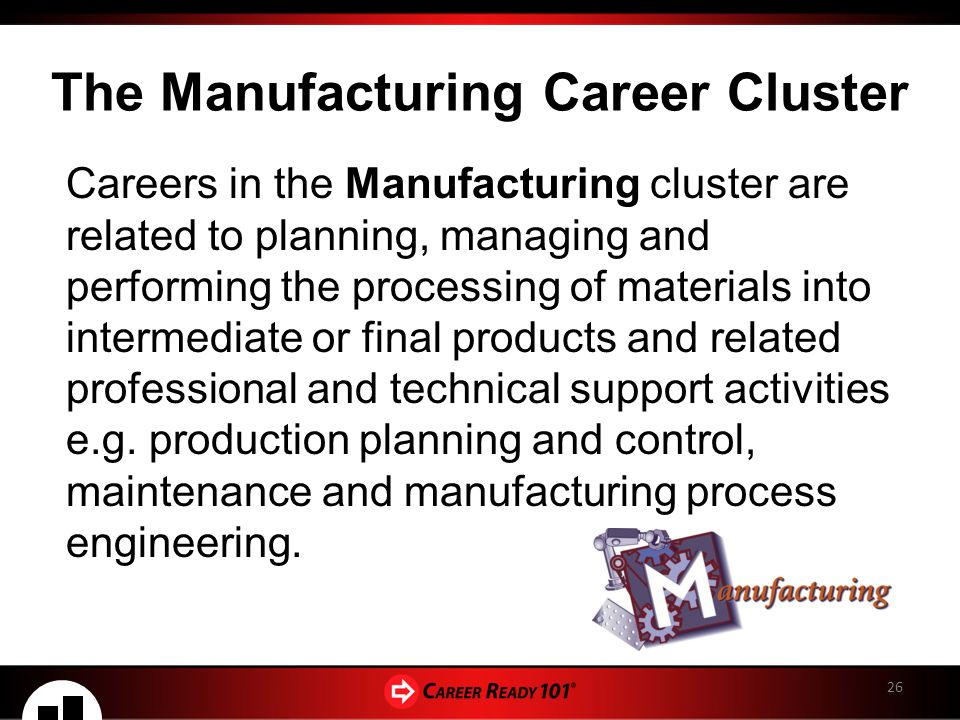 CREATING YOUR CAREER GOALS The 16 Career Clusters - Part 2 ...