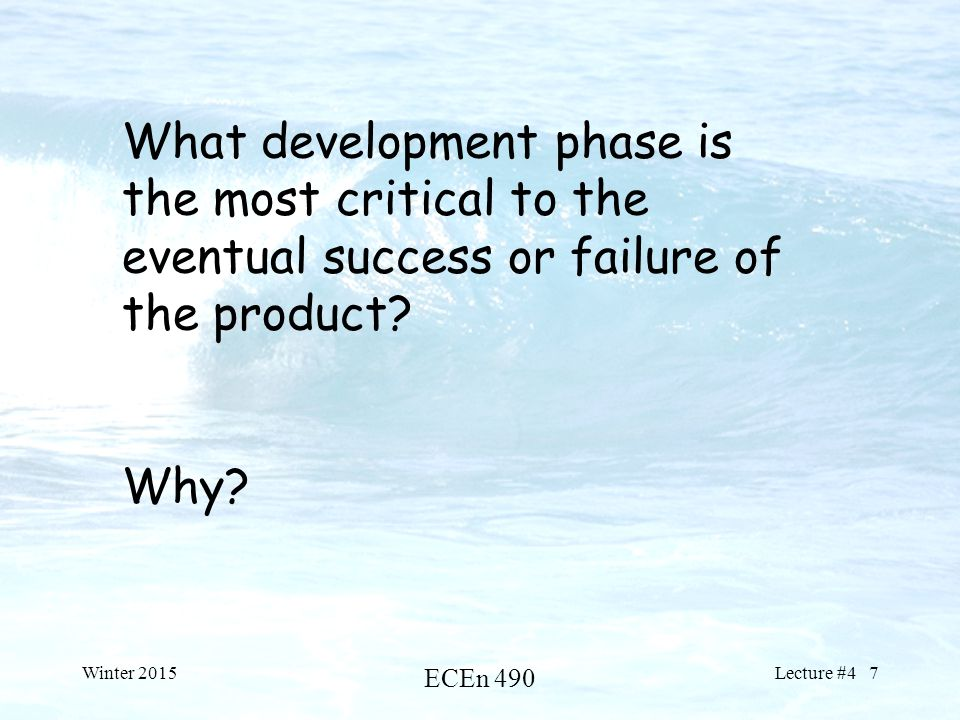 an analysis of success and failure in early america Success/failure analysis understanding the factors behind the success or failure of a value-added agricultural business is important the difference between success and failure has more than financial implications.