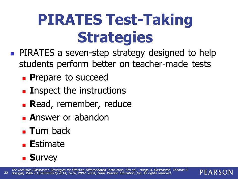 Test taking strategies essay exams