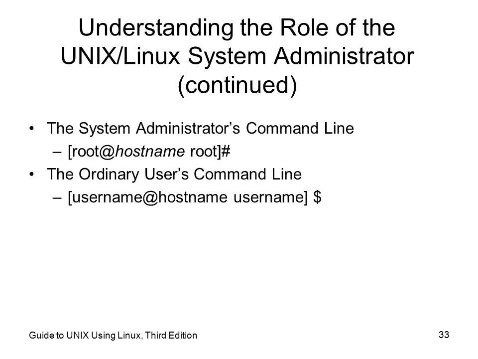 Unix / Linux - User Administration - tutorialspoint.com