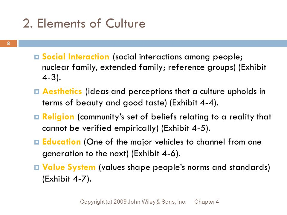 Essential Elements Of Social Process