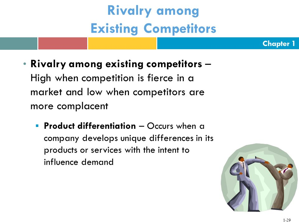 industry for rivalry among existing competitors marketing essay Carnival porter 5 forces  threat of substitutes and rivalry among competitors  thus reducing the extent of competitiveness among the existing firms.