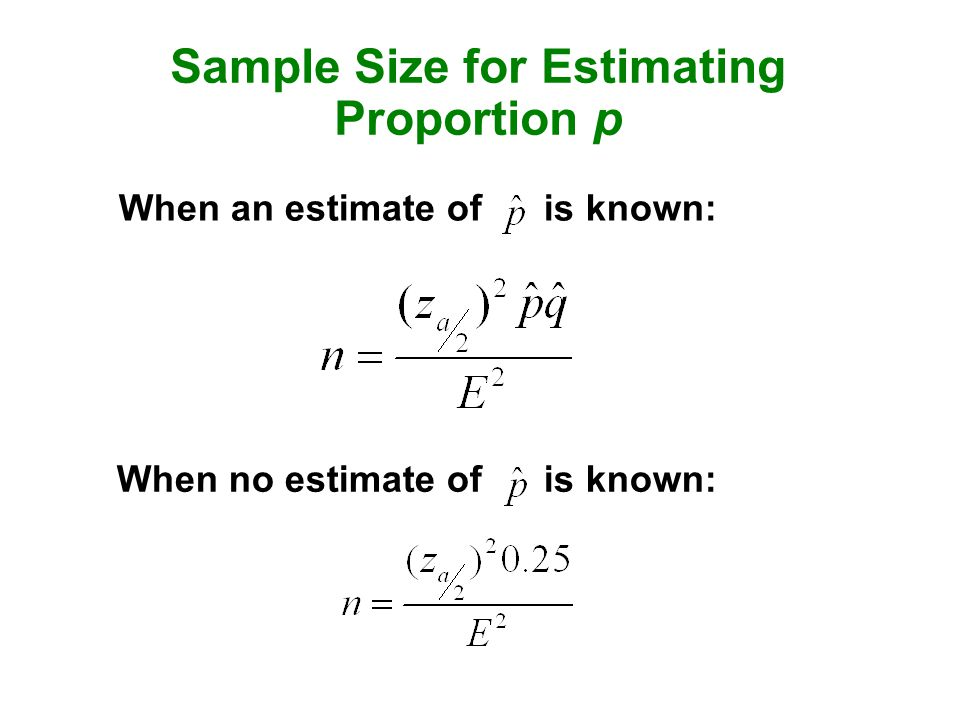 7 2 estimating a population proportion ppt video online for Size and proportion