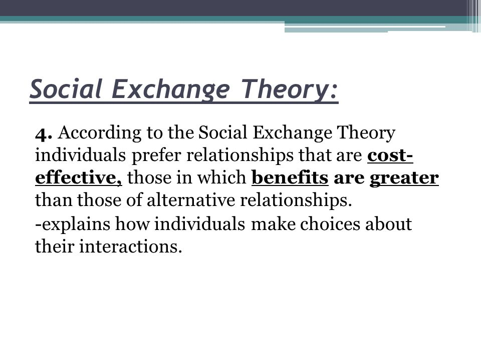 exchange in social life Blau, peter m 1964 exchange and power in social lifenew york london sydney: john wiley & sons, inc radical political opposition, for example, crannot be explained without taking into account the expressive significance it has for supporters, and failure to do so is a sorious shortcoming of formalistically rational models of politics.