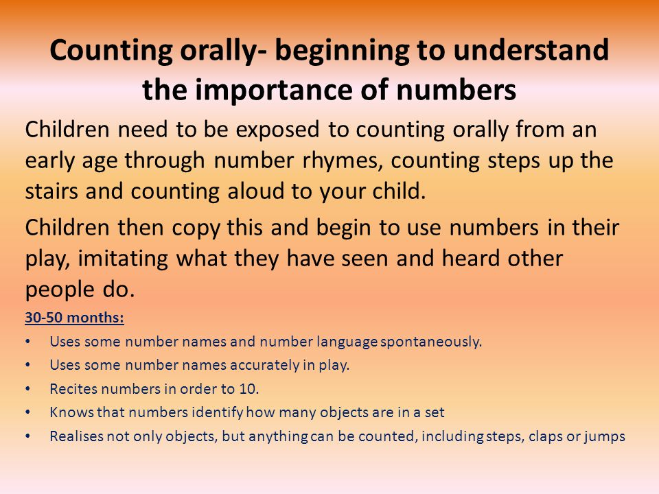 the importance of counting in early number development The history of accounting or accountancy is thousands of years old and can be traced to ancient civilizations [1] [2] [3] the early development of accounting dates back to ancient mesopotamia , and is closely related to developments in writing , counting and money [1] [4] [5] and early auditing systems by the ancient egyptians and babylonians.