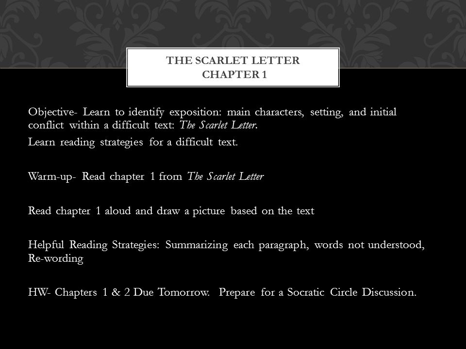 Write my the scarlet letter thesis