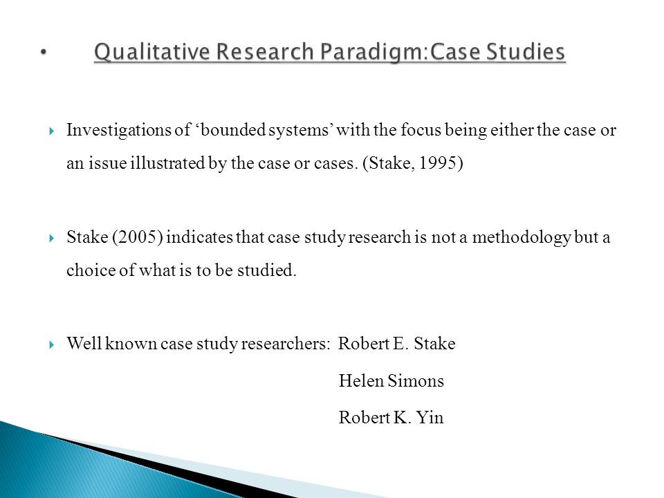 case study research essay Guide to writing a case study these issues need to be discussed and related to the academic literature and/or research write a brief description of the case.