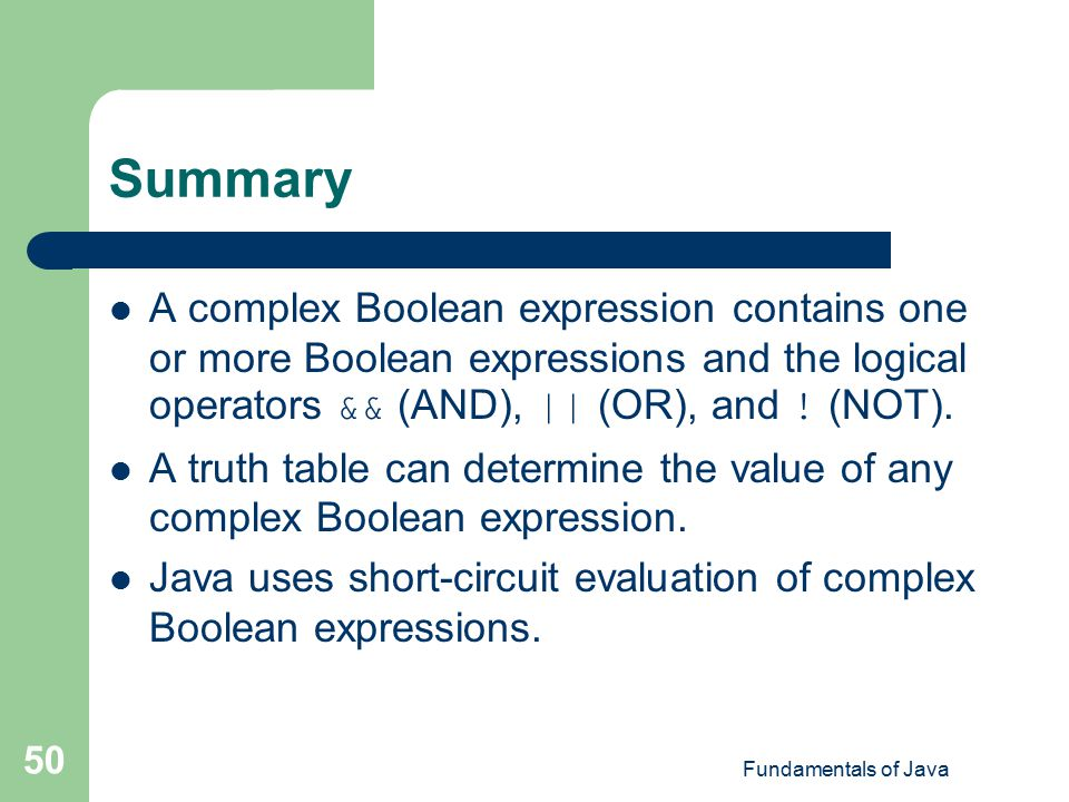 how to change a boolean value in java