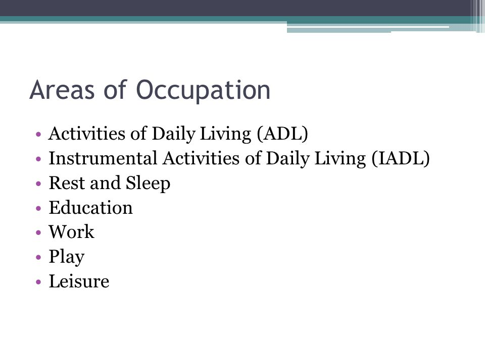activity of living sleep and rest Volunteer involvement is also an important part of nursing home activities given that  activities of daily living  rest and sleep,.