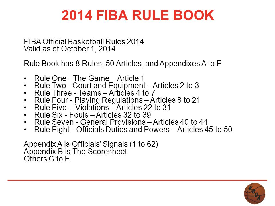 Kamloops Basketball Officials Association 2014 Education ...
