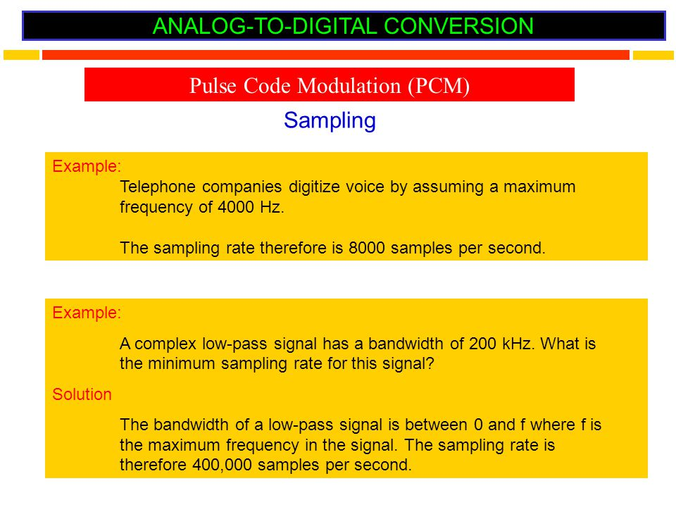 analog to digital conversion I introduction in this paper, we further develop the new approach to analog- to-digital conversion that was proposed in [1] and add an extra twist to it.