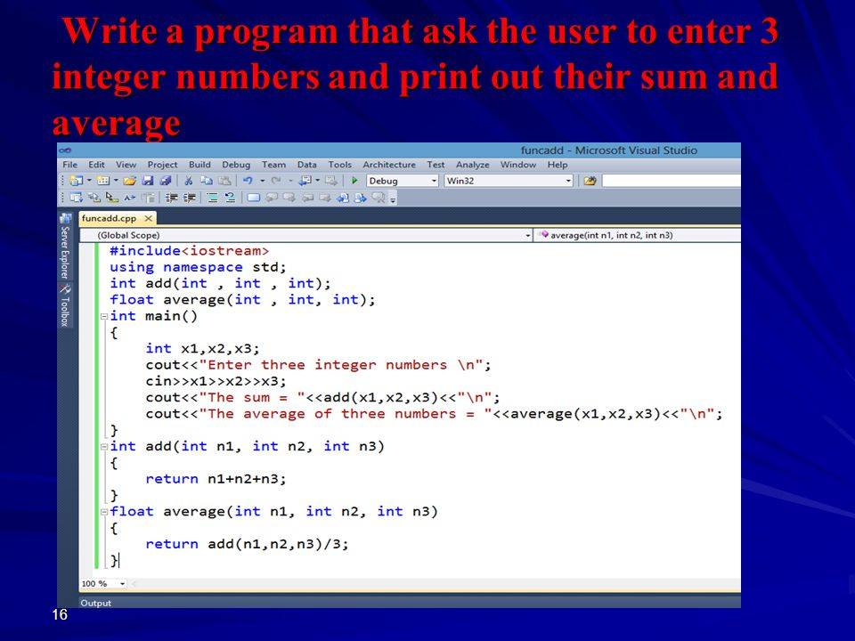 C Program to Calculate the Sum and Average of n Number