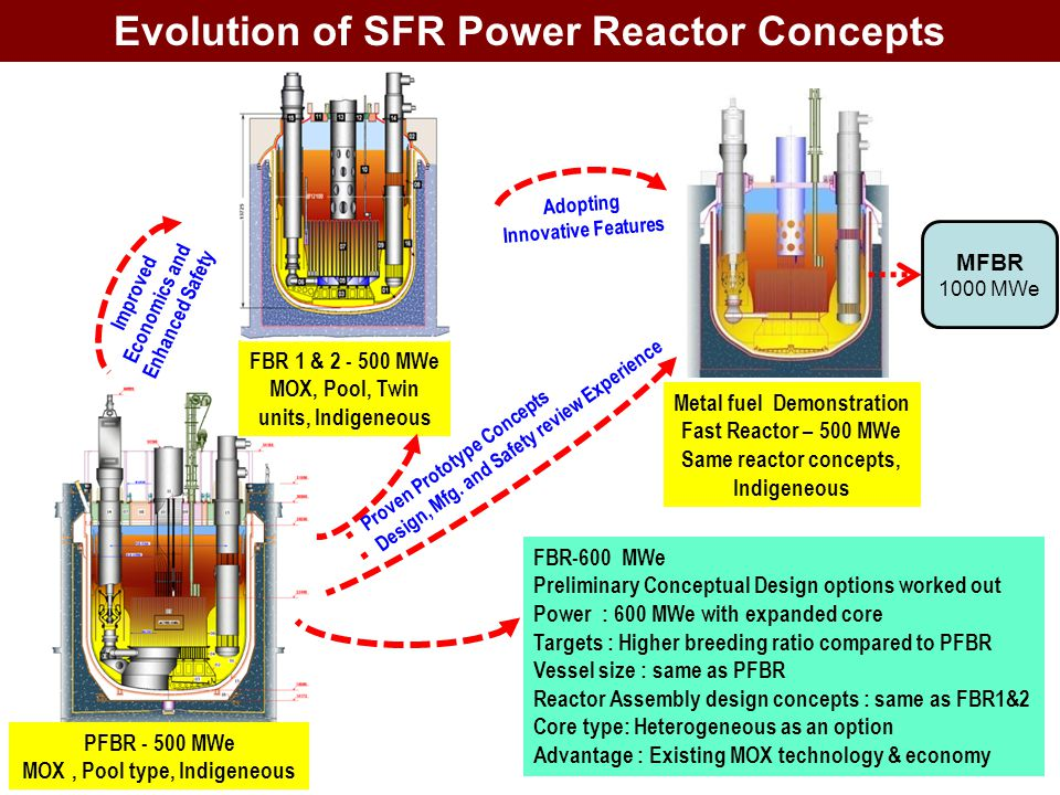 Sustainable energy security from fast breeder reactors for Pool design reactor