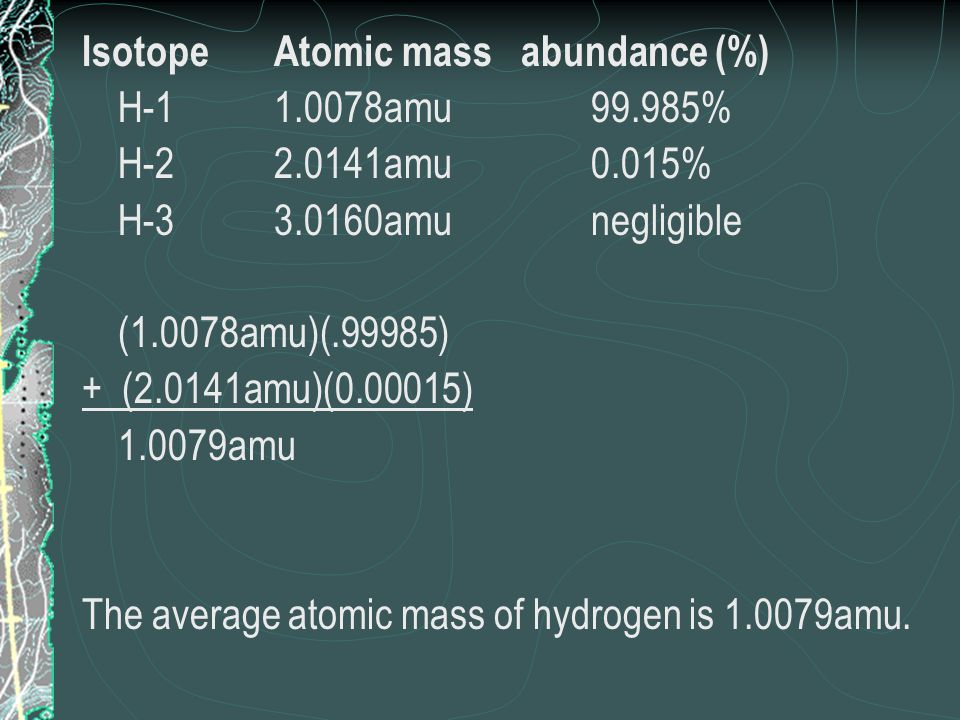 Periodic table periodic table hydrogen atomic mass periodic atoms building blocks of matter notes chapter 3 ppt download periodic table periodic table hydrogen atomic mass urtaz Choice Image