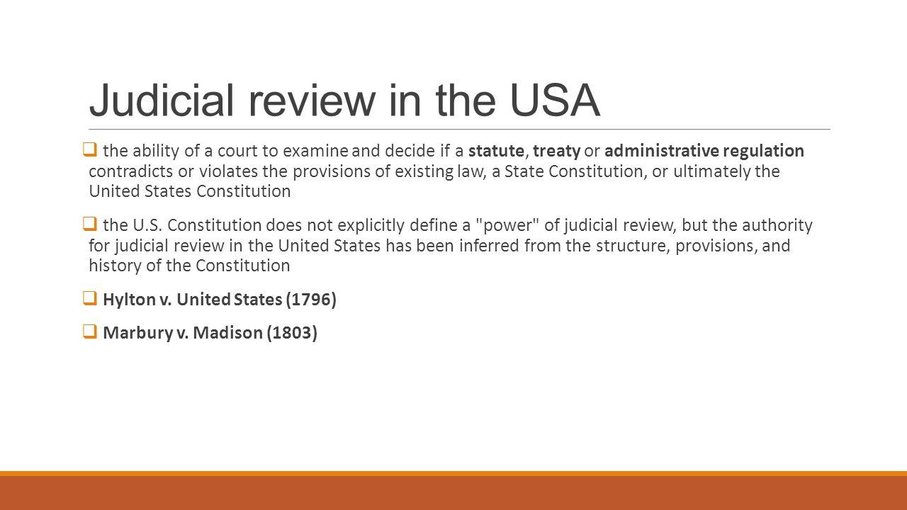 judicial control of administrative discretion