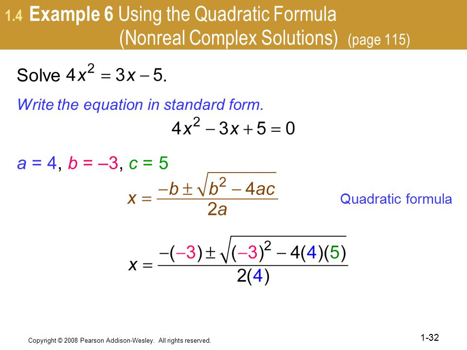 how to find solutions to a complex function