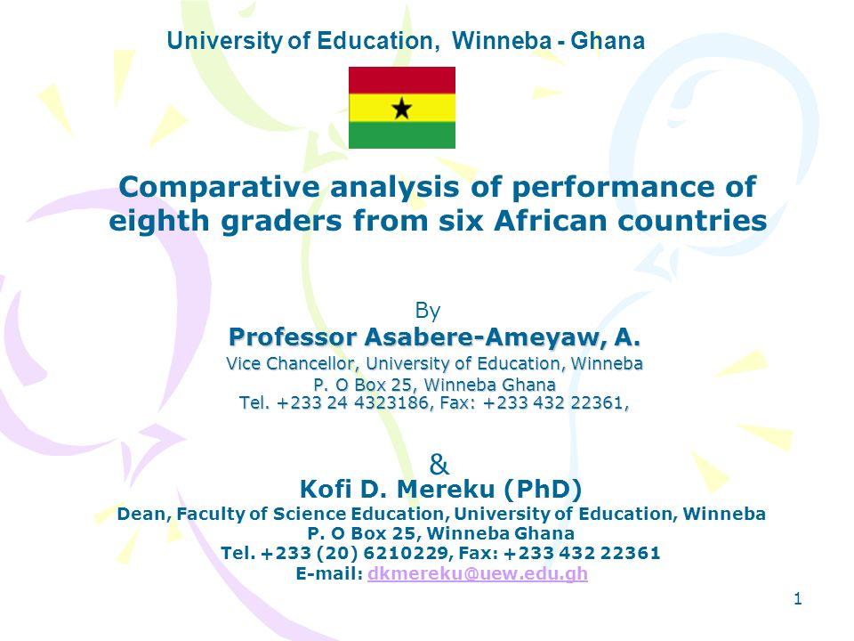 University of Education, Winneba - Ghana