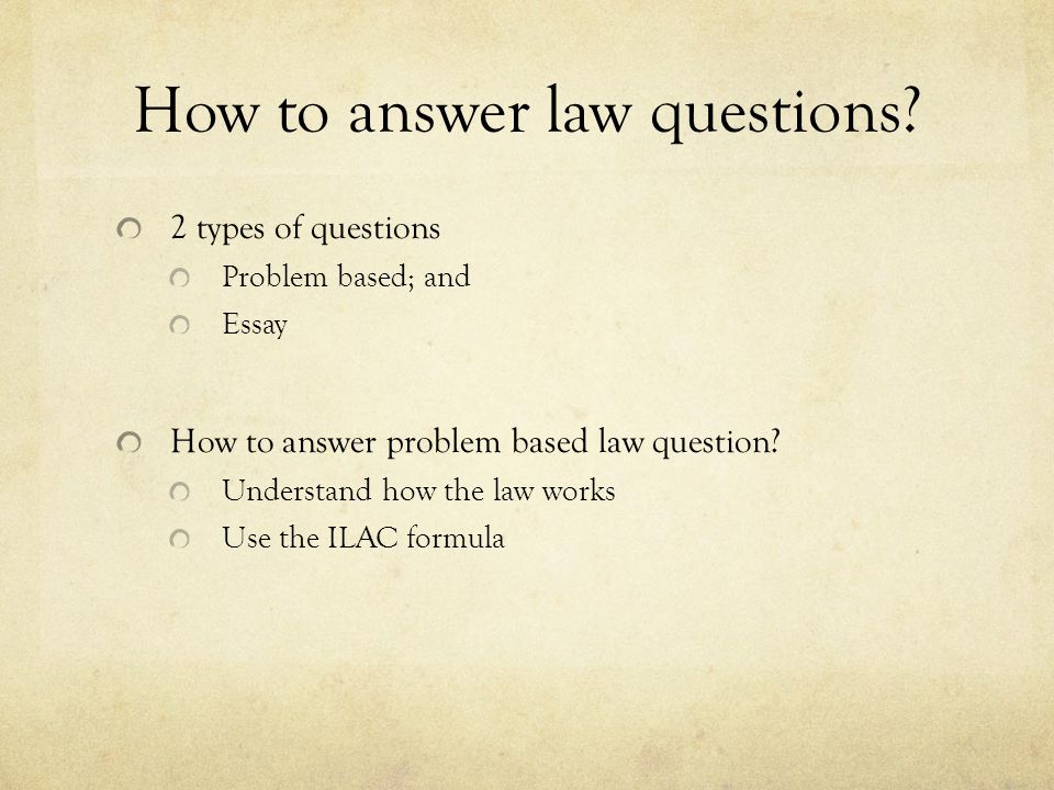 contract law tutorial answering questions ppt video online  how to answer law questions
