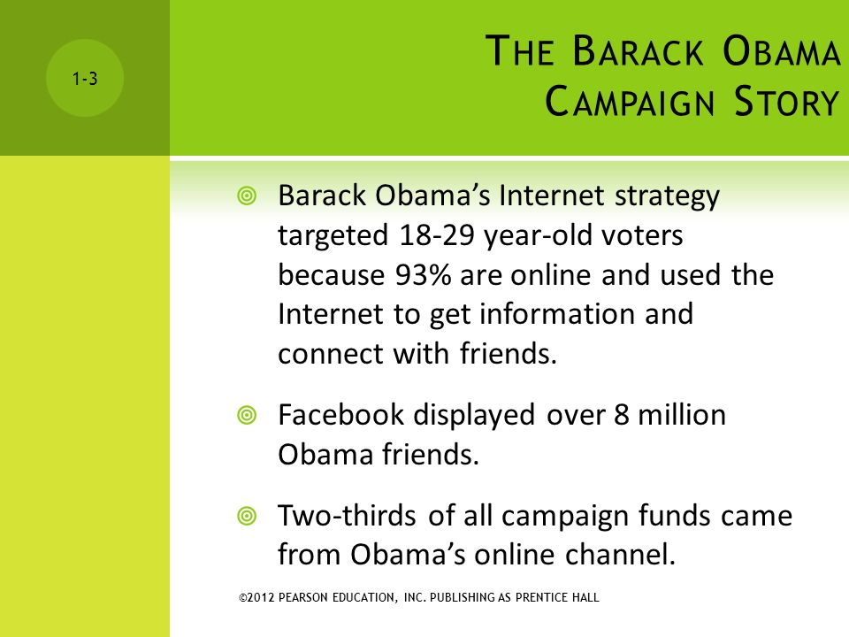 The Barack Obama Campaign Story