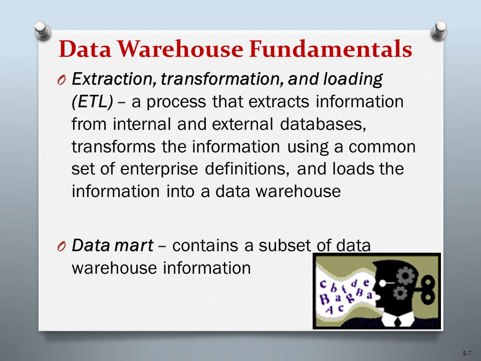Data Warehouse Fundamentals
