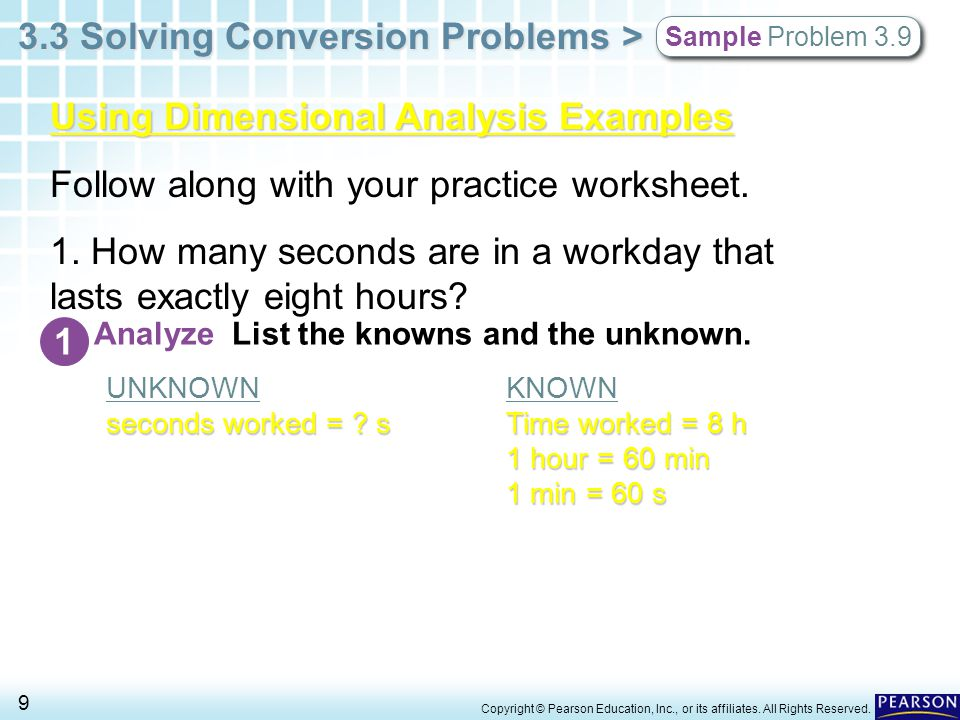 Unit Conversion and Dimensional Analysis Notes ppt download – Dimensional Analysis Problems Worksheet