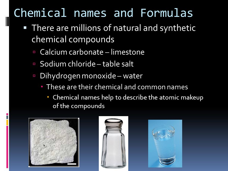 Chemical Formulas And Chemical Compounds Ppt Download