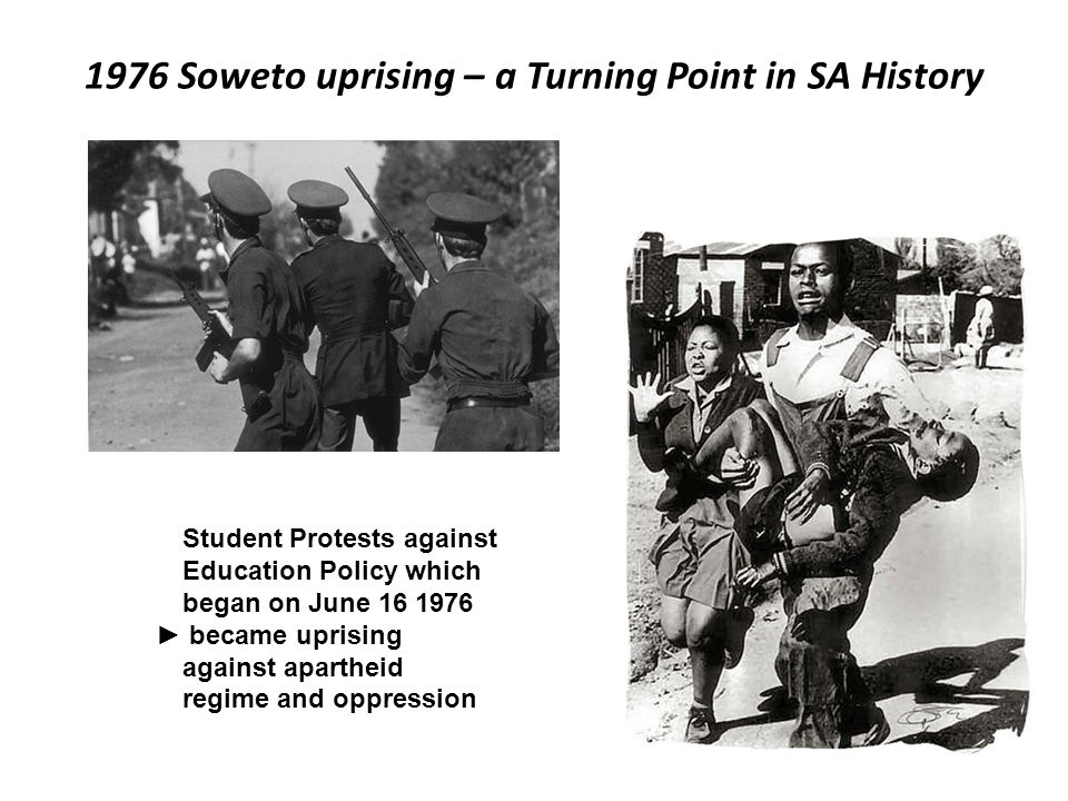 1976 Soweto uprising – a Turning Point in SA History