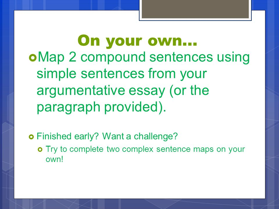 compound sentences for 14 year olds pdf