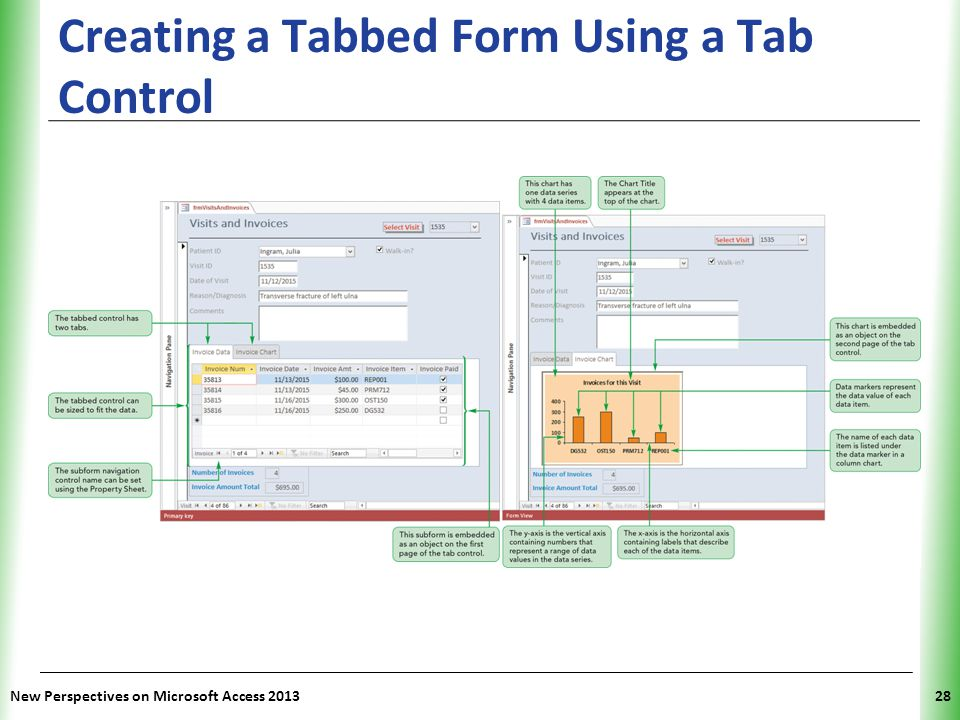 Creating a Tabbed Form Using a Tab Control