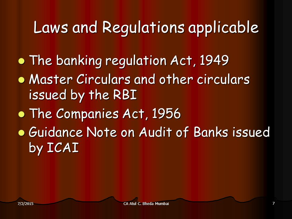 importance of banking regulation act Start studying important banking laws modifies portions of the bank holding company act to allow and set forth significant changes in the regulation of.