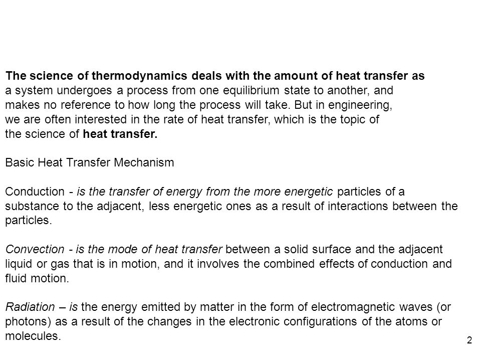 Chapter 11 heat transfer fundamentals of thermal fluid sciences the science of thermodynamics deals with the amount of heat transfer as fandeluxe Images