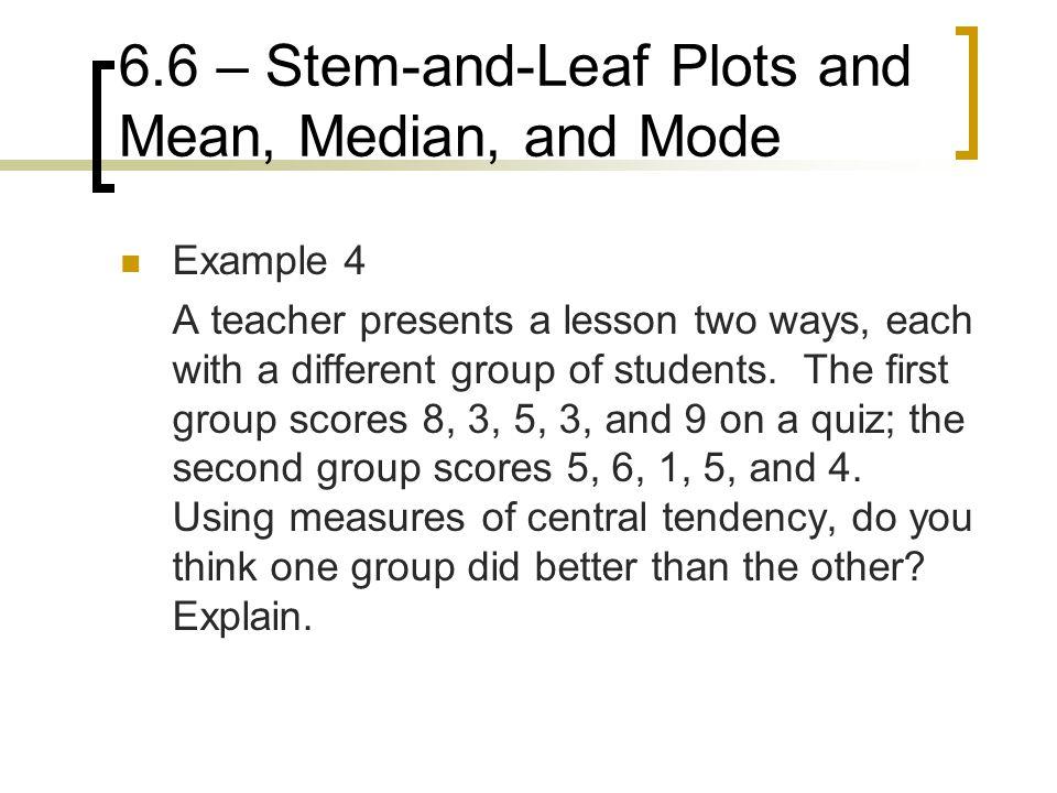 how to find median using stem and leaf diagram