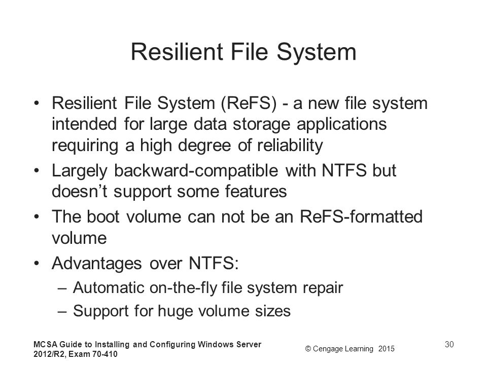 Resilient File System