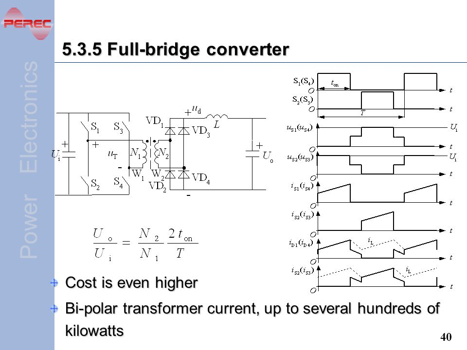 5.3.5 Full-bridge converter