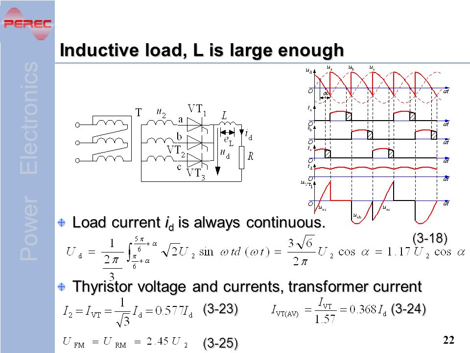 Inductive load, L is large enough