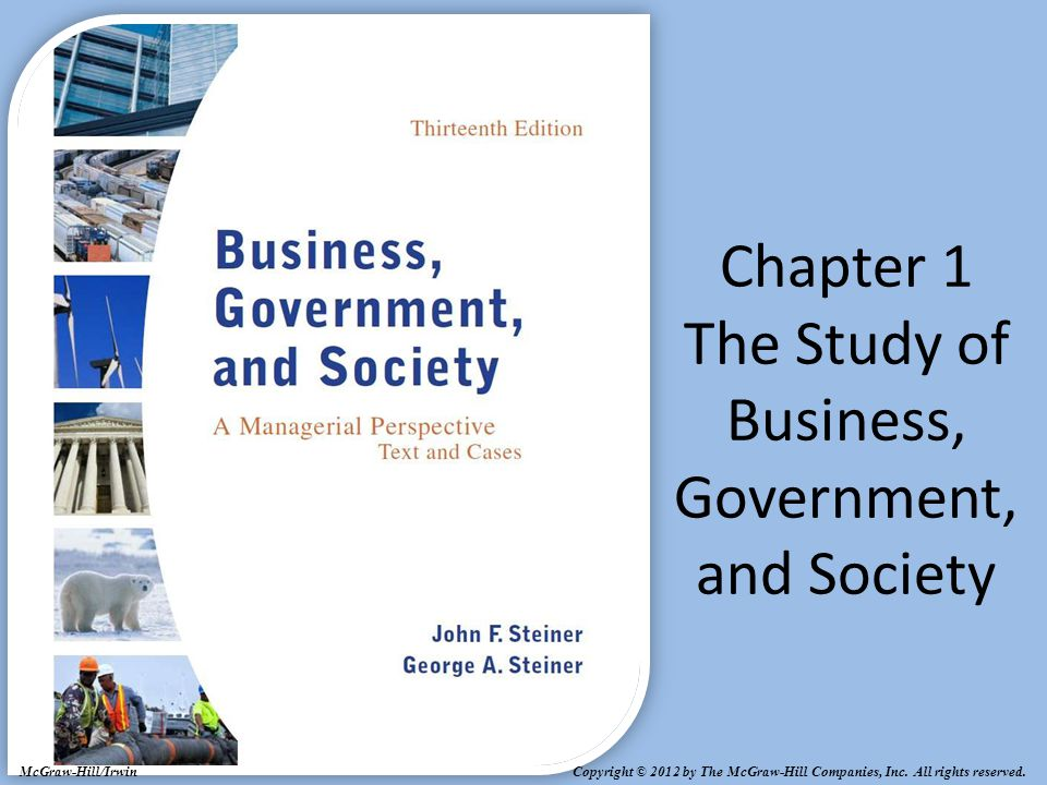 chapter 1 the study of business The introduction to business market for several editions for several reasons: (1) the commitment and dedication of an author team that teaches this course and believes in the importance and power of this.